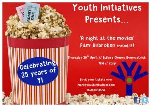 Cinema Fundraiser Flyer