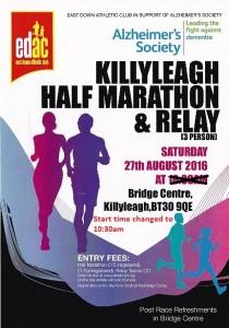 Killyleagh Half Marathon