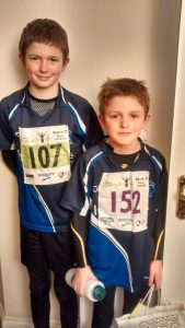 Ollie and Alex Robinson - Armagh Primary Race