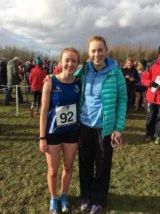Edie Carroll and Aoife Cochrane - Inter and Senior Girls' Races at Ulster Schools Cross Country