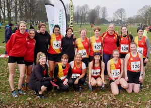 EDAC Ladies and Men at Lurgan Park - NI&Ulster Senior XC Championships