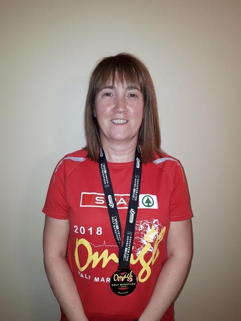 Carmel Tumelty - Omagh half Marathon