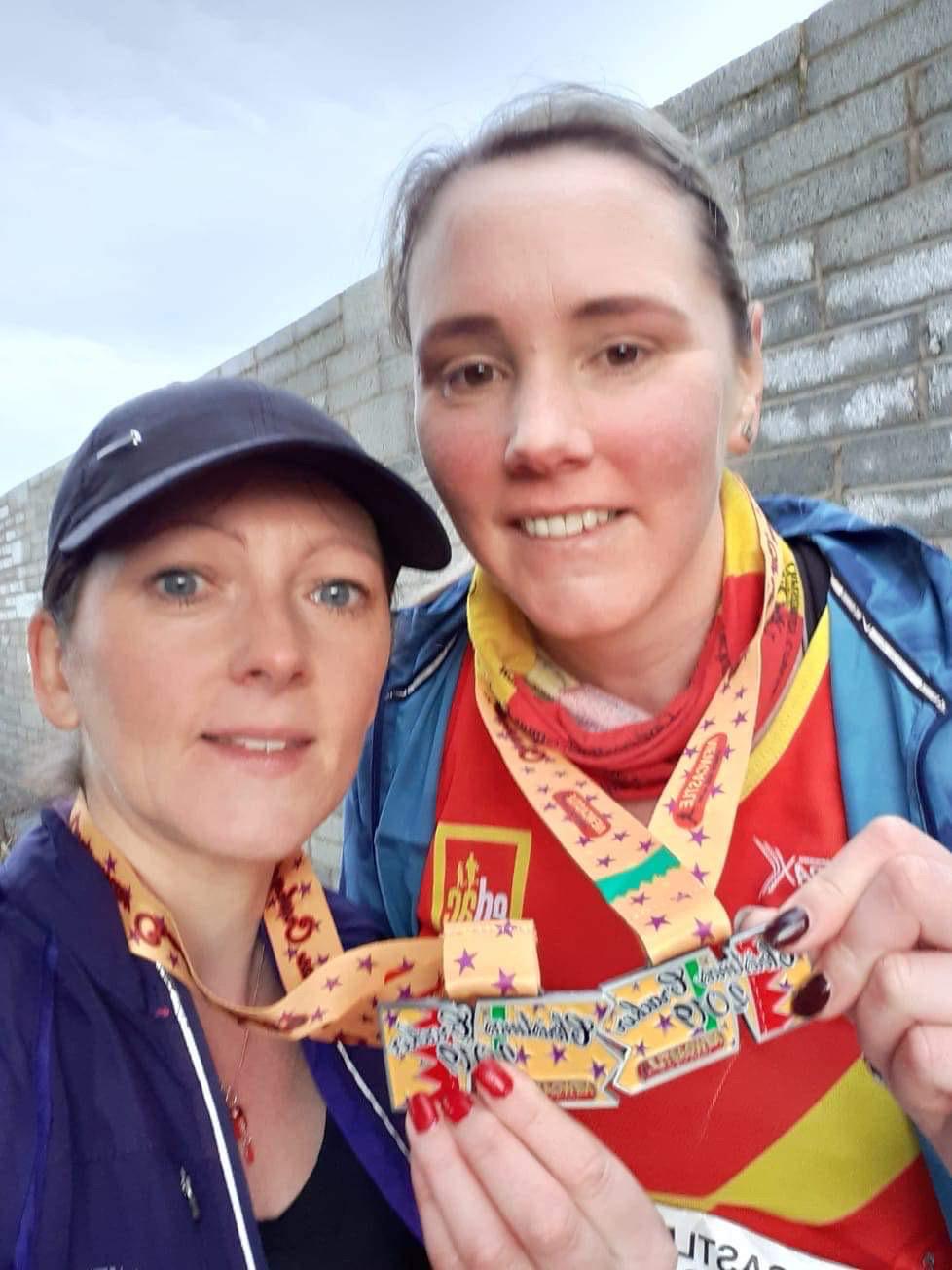 Oonagh Breteche and Janine Murray